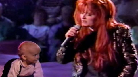 Wynonna Judd Sweetly Serenades Her Baby Boy Elijah With 'My Angel Is Here'   Country Music Videos