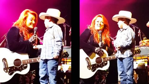 Wynonna Judd Shares Adorable Moment With Little Cowboy | Country Music Videos