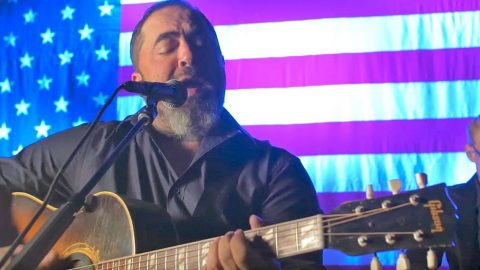 'Whiskey And You' Goes Acoustic In Chill-Inducing Performance From Aaron Lewis | Country Music Videos
