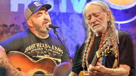 Aaron Lewis' Duet With Willie Nelson Will Restore Your Faith In Country Music | Country Music Videos