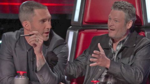 Talented Southern Singer Forces Adam And Blake To Go Head-To-Head After Hootie Cover | Country Music Videos