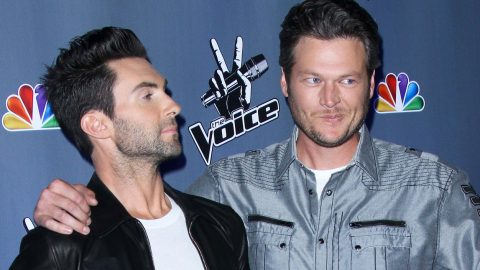 'I Get To Tear Blake Apart' Adam Levine Teases Blake Shelton About His Loss | Country Music Videos