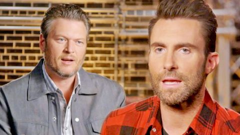 Adam Levine Hurls Absurd Accusation At Blake Shelton So 'Voice' Singers Won't Pick Him   Country Music Videos