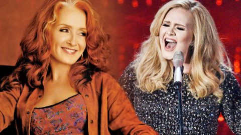 Adele Covers Bonnie Raitt's Heart-Wrenching Ballad 'Can't Make You Love Me' | Country Music Videos