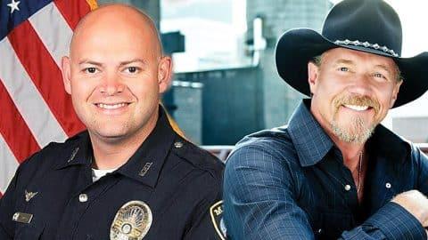 Trace Adkins Donates $10k To Heartbroken Family Of Slain Officer   Country Music Videos