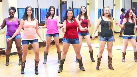 One Of The Hottest Country Songs Of 2017 Gets Line Dance Treatment From Famous 'Boot Girls' | Country Music Videos