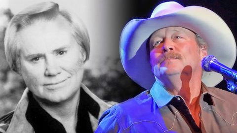 Heartbroken Alan Jackson Performs 'He Stopped Loving Her Today' On The Day George Jones Died   Country Music Videos