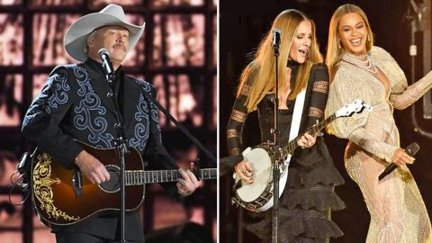 Alan Jackson Walked Out During Beyoncé's 2016 CMA Performance | Country Music Videos