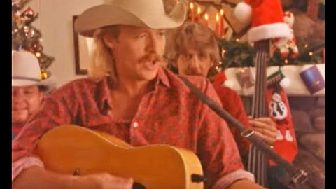 alan jackson will steal your heart with i only want you for christmas - Alan Jackson Christmas