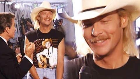 Dick Clark Interviews Alan Jackson – ACM Awards 1994 (VIDEO)   Country Music Videos