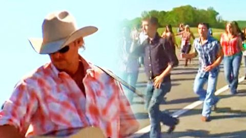 """Alan Jackson's """"Good Time"""" Line Dance Instruction Video   Country Music Videos"""