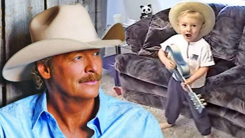 Hysterical Little Boy Keepin' It Country With Alan Jackson's Classic 'Little Bitty' | Country Music Videos