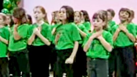 Your Heart Will Turn To Mush Once You Hear These Children Sing 'Angels Among Us' | Country Music Videos