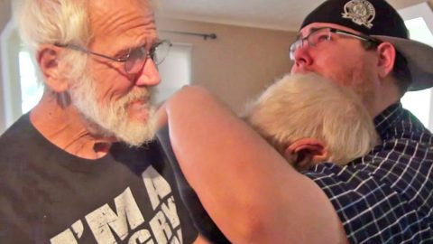 The Son Of YouTube Sensation Angry Grandpa Surprises His Dad With A Touching Gift! | Country Music Videos