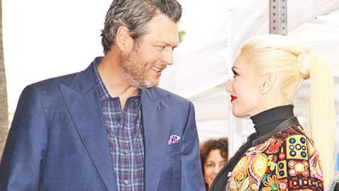 Blake Shelton & Gwen Stefani's Son Rock Matching Outfits While Fishing | Country Music Videos