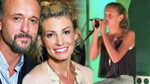 """Tim McGraw and Faith Hill's Daughter Dazzles With Dixie Chick's """"Travelin' Soldier"""" (Live) 