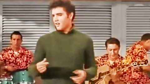 Elvis Presley's Isolated Vocal Track For 'Baby I Don't Care' Will Leave You Breathless | Country Music Videos