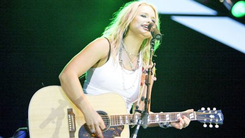 Teenage Miranda Lambert Is 'Texas As Hell' In One Of Her First Songs | Country Music Videos