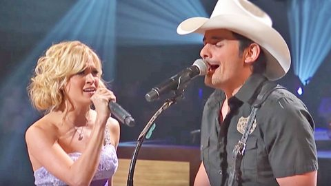 Carrie Underwood & Brad Paisley Ignite Emotion With Surprise 'Remind Me' Duet   Country Music Videos