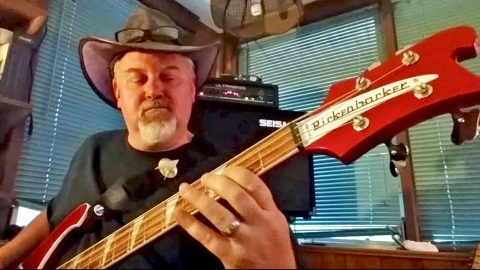 After Playing Bass For Over 30 Years, This Man Grabs His Gear And KILLS 'Gimme Three Steps' | Country Music Videos