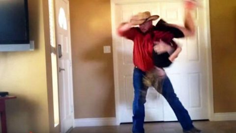 Best Dad Ever Teams Up With Daughter For Thrilling Dance Off | Country Music Videos