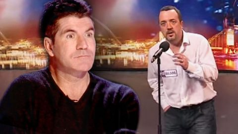 Shy Pizza Delivery Man Shocks Simon Cowell With Timid, Yet Moving Audition | Country Music Videos