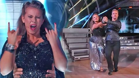 Bindi Irwin Channels Her Inner Rocker In Super-Charged AC/DC Dance Number | Country Music Videos