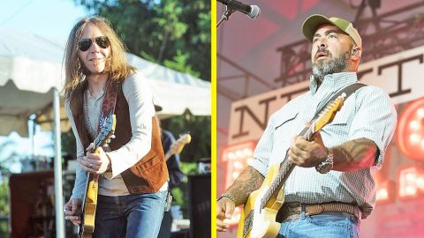 Aaron Lewis Teams With Blackberry Smoke For Thrilling Tour Announcement | Country Music Videos