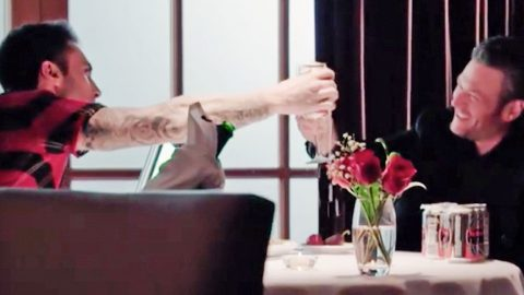 Blake Shelton & Adam Levine Go On A Romantic Date In Hysterical 'Voice' Promo | Country Music Videos