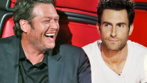 Blake Shelton Makes Fun Of Adam Levine In The Best Way Possible   Country Music Videos
