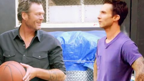 Blake Shelton Challenges Adam Levine To A Duel | Country Music Videos