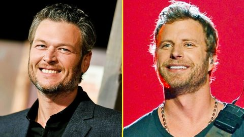 Blake Shelton Calls Out Dierks Bentley Following ACM Awards Announcement | Country Music Videos