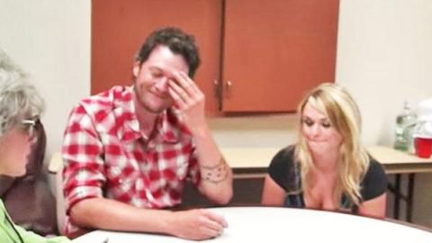 Blake Shelton and Miranda Lambert Get Angry During Interview (VIDEO) | Country Music Videos