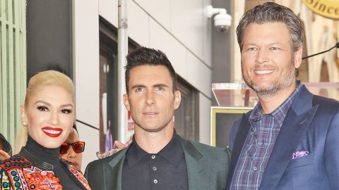 Adam Levine Jokingly Calls Blake Shelton And Gwen Stefani's Relationship 'Disgusting' | Country Music Videos