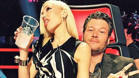 Gwen Stefani Runs Into Blake Shelton's Arms, Showing Major PDA During 'The Voice' | Country Music Videos