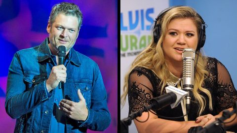 Blake Shelton Reveals Kelly Clarkson Had Critiques After Their 'Don't You Wanna Stay' Duet | Country Music Videos
