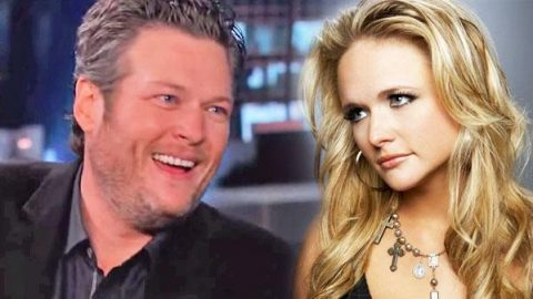 Blake Shelton on Competing with Wife Miranda Lambert (Jimmy Kimmel LIVE) | Country Music Videos