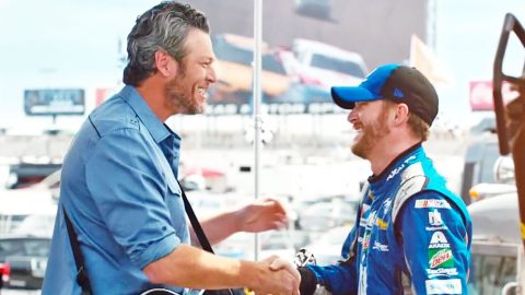Blake Shelton Debuts New Video That Will Get You Pumped Up For NASCAR | Country Music Videos