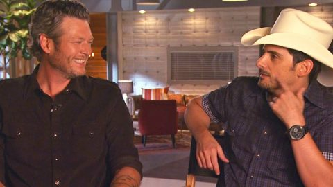 Brad Paisley Puts Blake Shelton 'On Blast' For Participating In Pageants As A Kid! | Country Music Videos