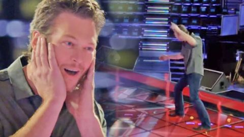 Blake Shelton Channels His Inner Elvis Presley In Hilarious 'Voice' Outtakes | Country Music Videos