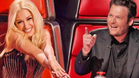 'That Makes Me So Happy' -Blake Shelton Defends Team Gwen On The Voice | Country Music Videos