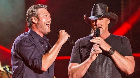 Blake Shelton Shares The True Reason Why He's Bringing Trace Adkins On His Tour | Country Music Videos