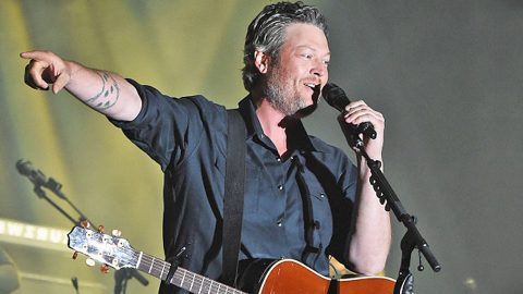 Blake Shelton Interrupts Show To Help A Marine Pop The Question | Country Music Videos