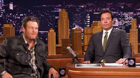 Blake Shelton – Best Coach on The Voice (Jimmy Fallon Show)   Country Music Videos