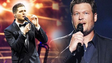 Michael Buble and Blake Shelton – Home (VIDEO)   Country Music Videos