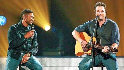 "Blake Shelton – Covers Usher Song ""Yeah"" (VIDEO) | Country Music Videos"