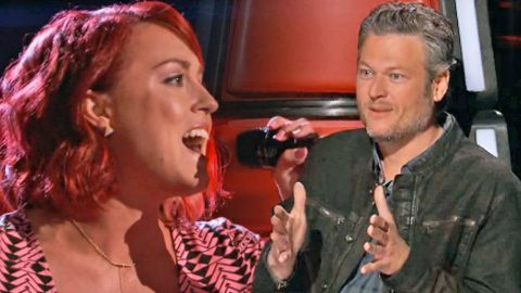 'Voice' Contestant Earns 4-Chair Turn For Mind-Blowing Rendition Of LeAnn Rimes' 'Blue' | Country Music Videos