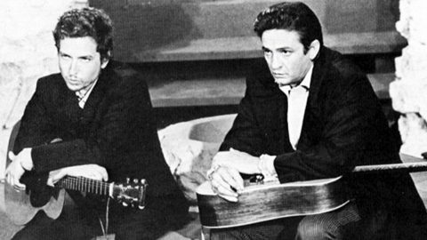 Johnny Cash & Bob Dylan Deliver Us From Evil With Heavenly 'Just A Closer Walk With Thee' | Country Music Videos