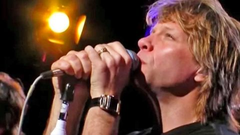 Bon Jovi Bleeds Redemption In Unearthly Performance Of 'Hallelujah' | Country Music Videos