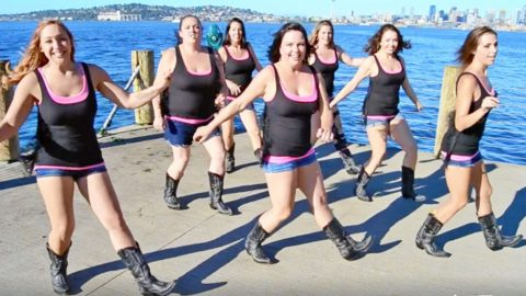 You'll Be Dying To Learn This Sassy Line Dance To A Catchy Country Tune | Country Music Videos